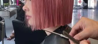 nancy pelosi bob hairdo dramatic pink bob haircut is the most mesmerizing hair