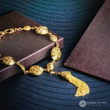 gold plated bracelet chain images Songket gold plated chain bracelet sunaka jewelry jpg