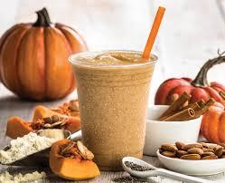 jamba juice introduces new pumpkin protein smoothie brand