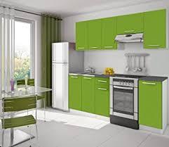 meuble cuisine vert pomme cuisine eco vert pomme amazon fr cuisine maison