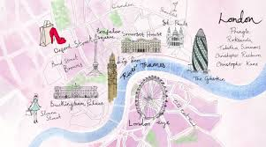 Creative Maps The Best Illustrated Maps Of London Wanderarti