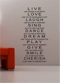 No One Kitchen by Live Laugh U0026amp Love Wall Art Quote Sticker Vinyl Kitchen Bedroom
