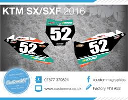 motocross race numbers 2016 mxgp series u2013 ktm sx sxf backgrounds kit u2013 custom mx u2013 the
