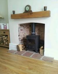 Gas Mantle Fireplace by Best 25 Gas Stove Fireplace Ideas On Pinterest Wood Burner