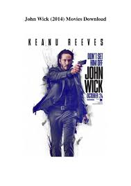john wick 2014 movies download low quality