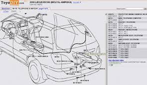 rx300 wiring diagram lexus wiring diagrams instruction