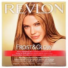 silver hair frosting kit revlon frost glow honey highlighting kit walmart com