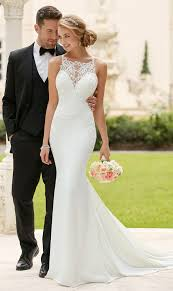 mermaid wedding dresses best 25 square wedding dress ideas on dress necklines