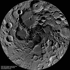 volcanoes nudged the moon its axis cosmos