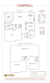 Home Floor Plans by Campbell Floor Plan Legacy Homes Omaha And Lincoln