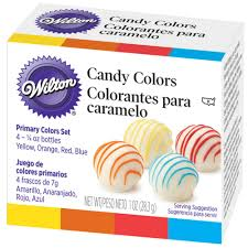 primary candy colors set wilton candy colors wilton
