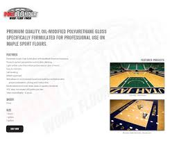 courtsports products polydefender finish gloss hardwood