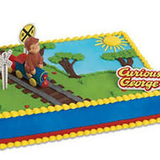 curious george cake topper 44 best sheet cakes images on sheet cakes walmart