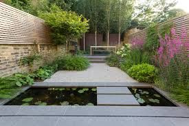 Paved Garden Design Ideas Hillside Garden Design Ideas Landscape Contemporary With Paved