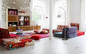 living room living room floor reading lamp cushion seatingliving