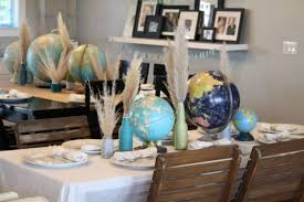 travel themed baby shower globe themed adoption shower the pleated poppy