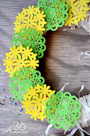 summer wreath summer wreath tutorial the 36th avenue