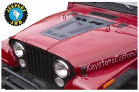 jeep louvers hyline offroad jeep cj louvered panel
