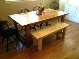 diy dining table bench dining table bench plans midnorthsda org