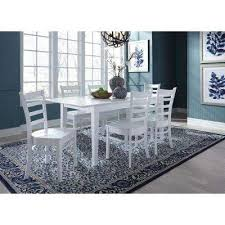 Black And White Dining Room Sets Dining Chairs Kitchen U0026 Dining Room Furniture The Home Depot