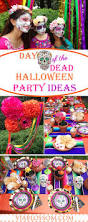 day of the dead halloween decorations halloween day of the dead party via blossom