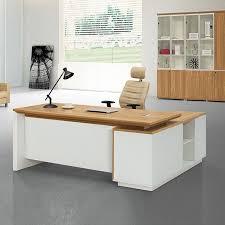 Office Desk Styles Simple Style Melamine High End Office Furniture Executive Desk Set