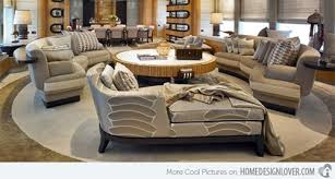Circular Sectional Sofa Curved Sectional Sofas U2013 Classic Italian Furniture Interior Design