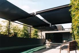 outdoor u0026 landscaping chic yellow outdoor canopy as pool shade