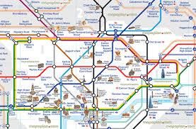 underground map zones underground map with tourist attractions map