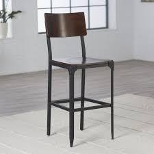 industrial metal bar stools with backs bar stools outdoor wood bar stools with backs awesome metal