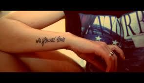 quote tatto arm name tattoo ideas
