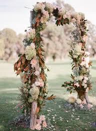 wedding arch used fall wedding trends weddingwednesdays oh so dolce