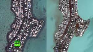 Satellite Map Of Washington State by Satellite Images Show Irma Destruction In Caribbean U0026 Florida