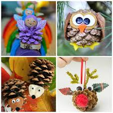 pine cone crafts for to make crafty morning inspiring bridal