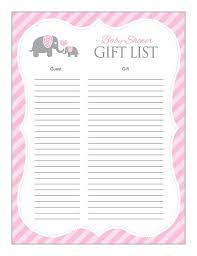 list of baby shower baby shower gifts list 25 best ba shower gift list ideas on