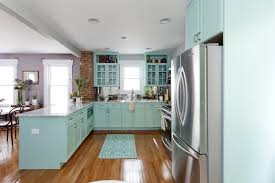 Soft White Kitchen Cabinets Kitchen Unique Plaid White And Blue Kitchen Cabinet Design Along
