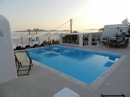 pool area lithos mykonos