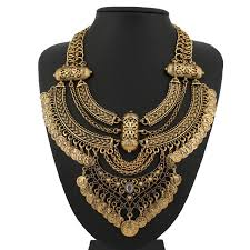 multi gold necklace images 2015 design retro coin multi layer necklace gold necklaces amp jpg