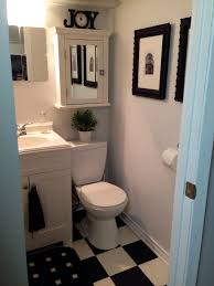bathroom decorating ideas on a budget pinterest tv above
