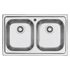 BFast Double Bowl No Drainer Abey Australia - Double drainer kitchen sink