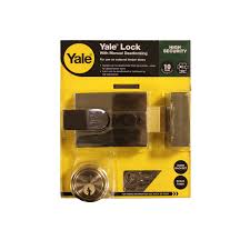 yale nightlatch with manual dealocking p89 brass 60mm backset