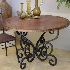 wrought iron dining table base u2013 rhawker design