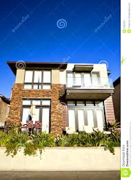 home exterior design material exteriors heavenly modern home exterior royalty stock