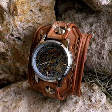 bracelet leather watches images Best mens leather cuff watches products on wanelo jpg