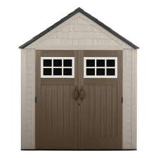 Free Standing Storage Buildings by Plastic Sheds Sheds The Home Depot