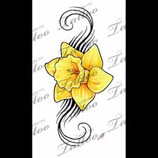 daffodil tattoo would be near to put my mom and dad into this in