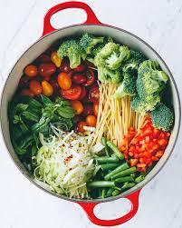 healthy pasta recipes creamy vegan dishes greatist