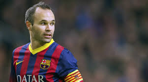 andres iniesta gets an interesting new haircut cue the jokes on