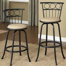 Counter Height Bar Stools With Backs Stools Draco Adjustable Bar Counter Stool In Gray Back Oak Bar