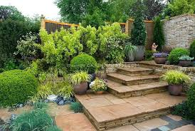 Tiered Backyard Landscaping Ideas Tiered Landscape Inspiration For A Style Sun